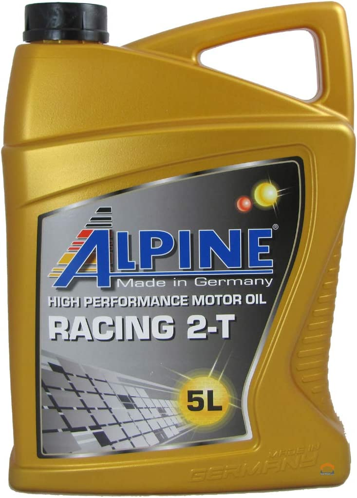 Alpine 2t 2 Stroke Oil Fully Synthetic 5liter 5l Auto
