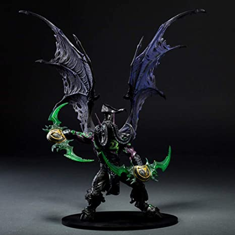 Vokaer World Of Warcraft Deluxe Collector Figure Illidan Demon Form