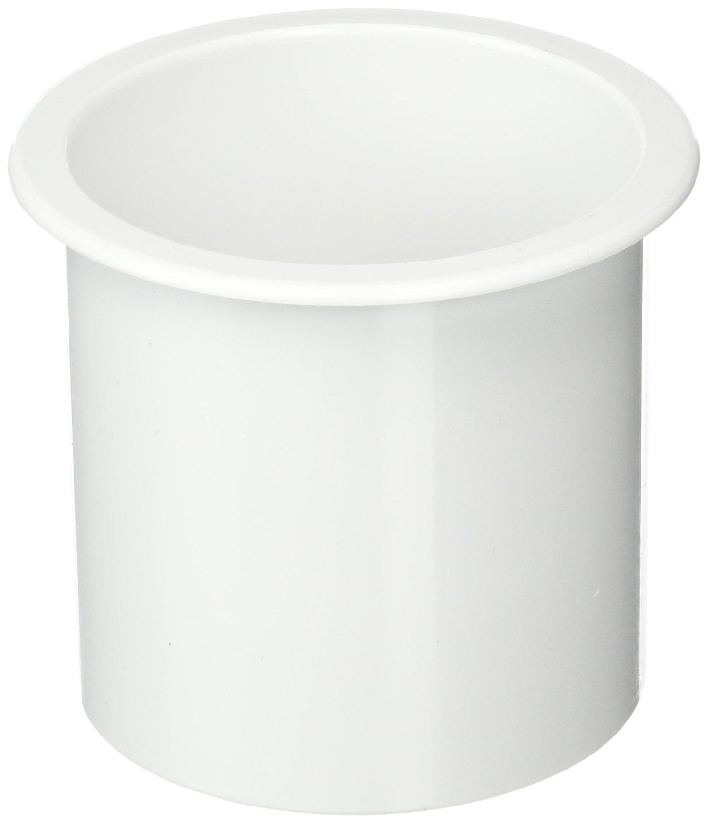 Sea-Dog 588011 Flush Mount Drink Holder, 3'' Deep - White