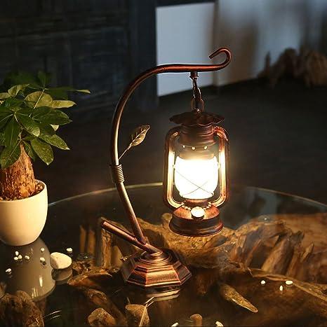 hierro de decoración de lámpara de mesa lámpara de mesa ...