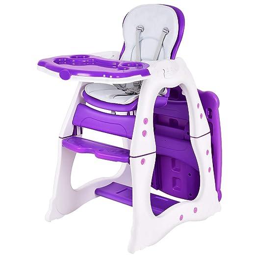 Amazon.com: Costzon - Juego de mesa y silla 3 en 1 para bebé ...