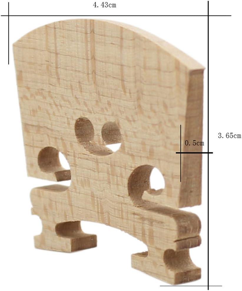 KESOTO Hochwertige Violine Br/ücke 3//4 1//2 Ahorn Holz Violin Bridge f/ür 1//8 1//4 Gr/ö/ße Violine 1//2