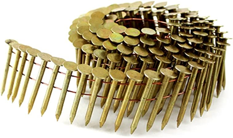 """7200//BX 15 Degree Electro Galv Roofing Coil Nails 1-3//4/""""x.120/"""""""
