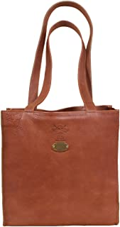 product image for Col. Littleton Full-Grain Leather Ladies No.9 Tote | Made in USA