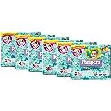 Pampers Baby Dry Pannolini Midi, Taglia 3 (4-9 kg), 6 Pacchi da 28 Pezzi