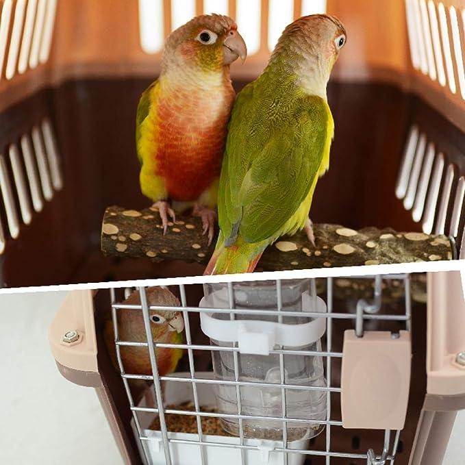 LILY-Jaulas para pájaros Jaula de Transporte de Aves de plástico ...