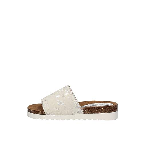 Docksteps DSE104227 Sandales Femme blanc - Chaussures Sandale Femme