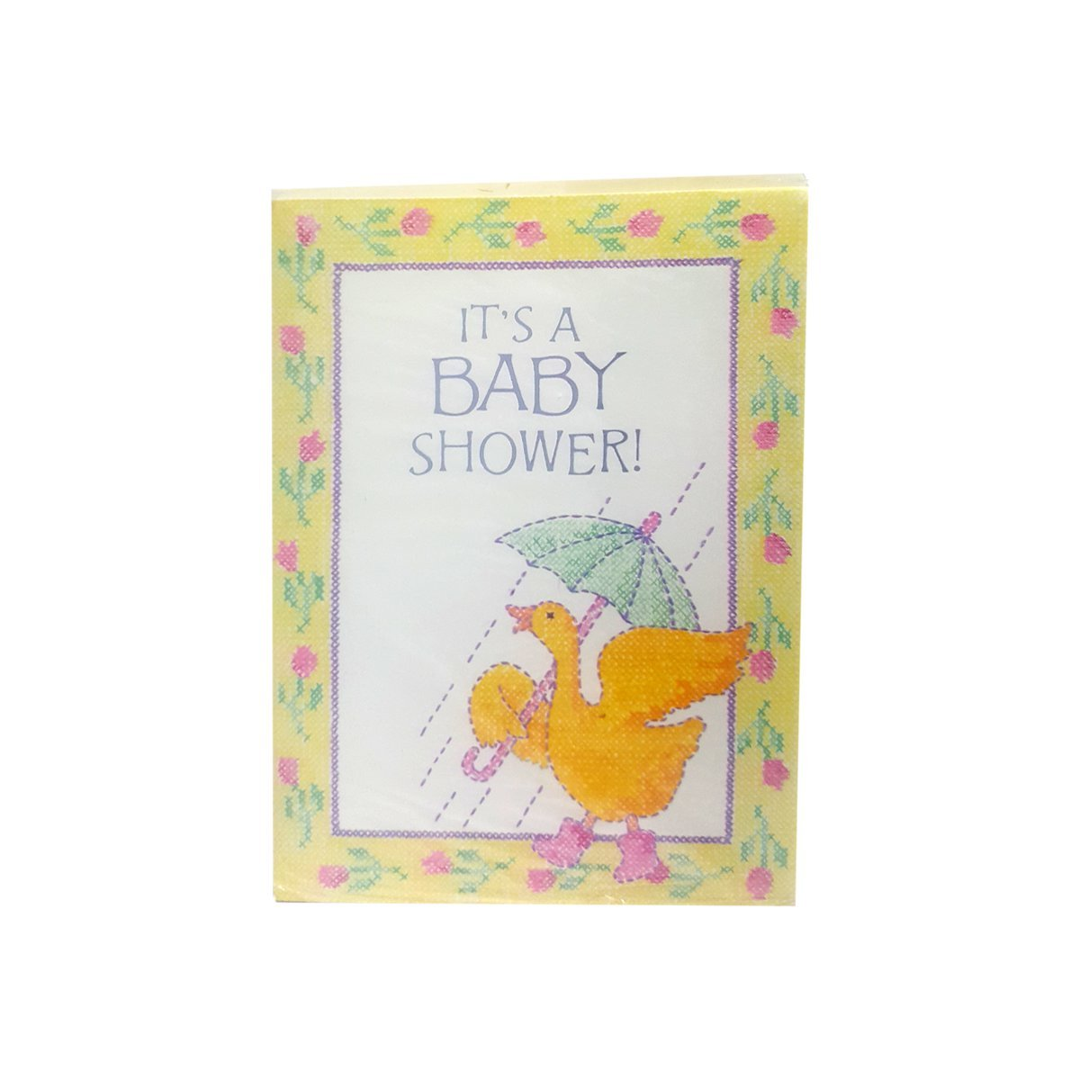 Amazon.com: American Greetings Baby Shower Invitations (8-Count ...