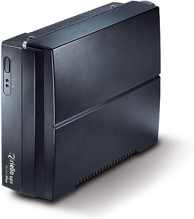Riello - Ups Protect Plus PRP 850 - ups - ca 220-240 v - 480 vatios - 850 va - Conectores de Salida: 2 - Negro