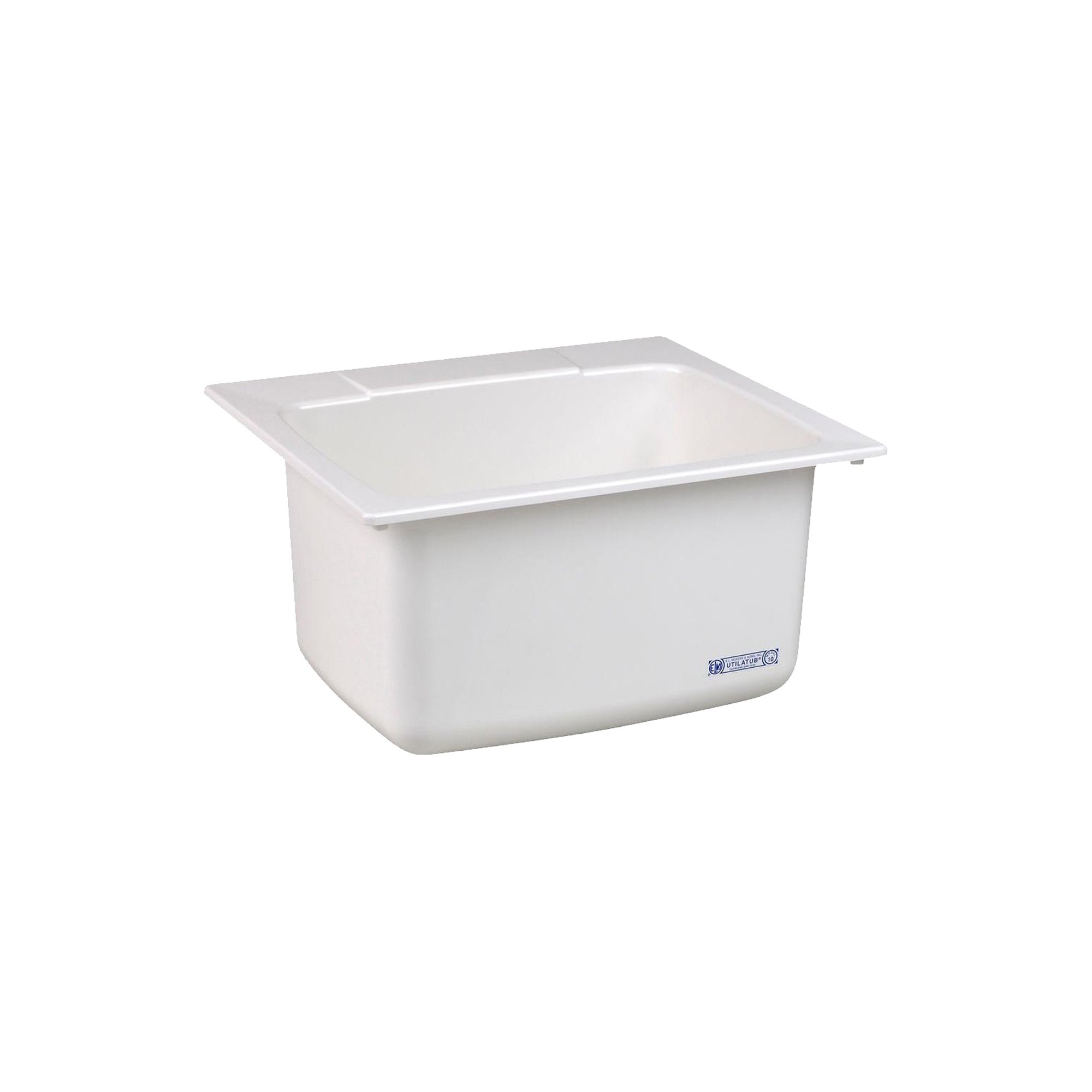 Mustee 10C Utility Sink, 22-Inch x 25-Inch, White by Mustee