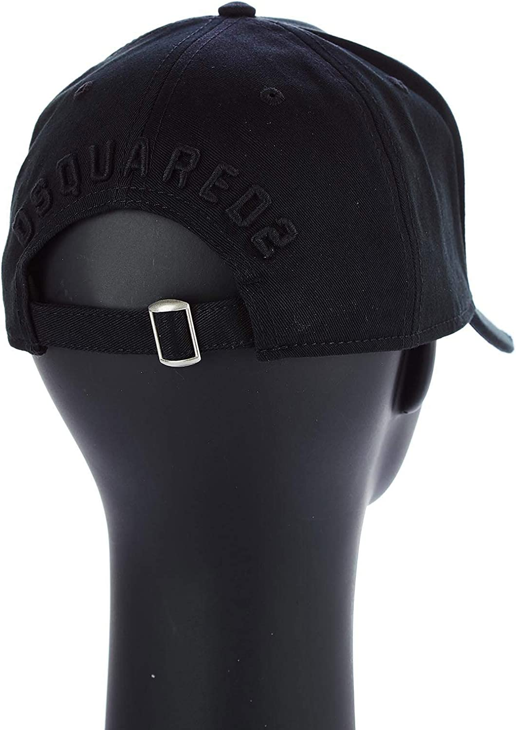 DSQUARED2 Mens Flat Cap Black Black