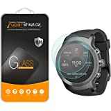 [2-Pack] Supershieldz for LG Watch Sport Tempered Glass Screen Protector, Anti-Scratch, Anti-Fingerprint, Bubble Free, Lifetime Replacement Warranty