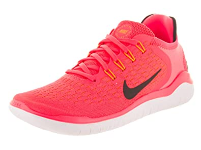 best sneakers f705b 6ab51 Image Unavailable. Image not available for. Color  Nike Women s Free RN 2018  Flash Crimson Black Running ...