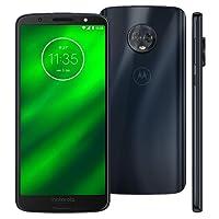 Smartphone Desbloqueado G6 Plus, Motorola, PAB10011BR, 64 GB, 5.9'', Índigo
