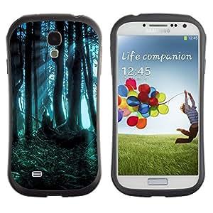 Suave TPU GEL Carcasa Funda Silicona Blando Estuche Caso de protección (para) Samsung Galaxy S4 I9500 / CECELL Phone case / / Forest Dark Fairy Mysterious Nature Summer /