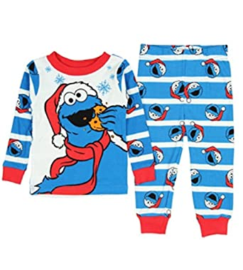 434ff0eb3 Amazon.com  Sesame Street Baby Toddler Santa Cookie Monster ...