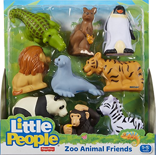 61Rw 9GFp6L - Fisher-Price Little People Zoo Animal Friends
