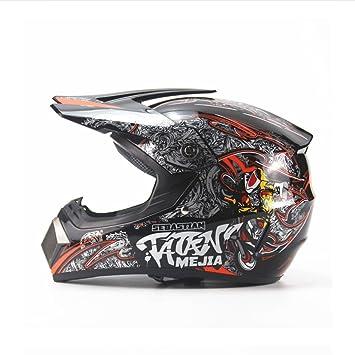DGF Helmet Light Seasons Off-road Casco de la motocicleta Hombres y mujeres Casco de