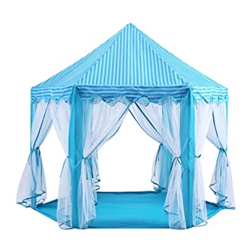 Tentes de jardin Intérieur du château de la tente de jeu ...