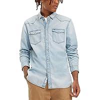 Tommy Hilfiger Western Denim Shirt Arnlb Günlük Gömlek Erkek