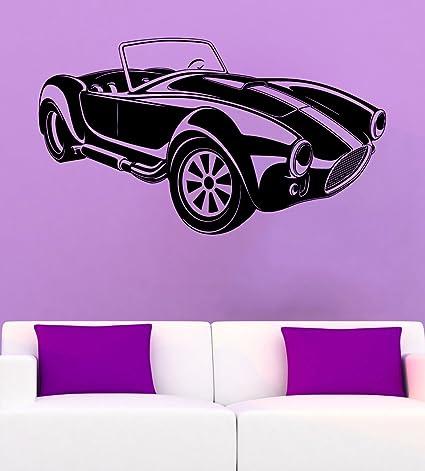 Car Wall Vinyl Decal Muscle Car Wall Sticker Cars Decals Wall Vinyl