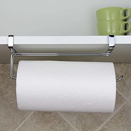 Merveilleux SYIDINZN Paper Towel Hanger Holder, Stainless Steel Kitchen Roll Paper Towel  Holder Tissue Hanger Organizer
