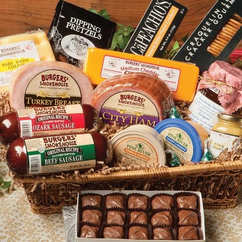 Aunt Margaret's Gift Basket by Burgers' Smokehouse