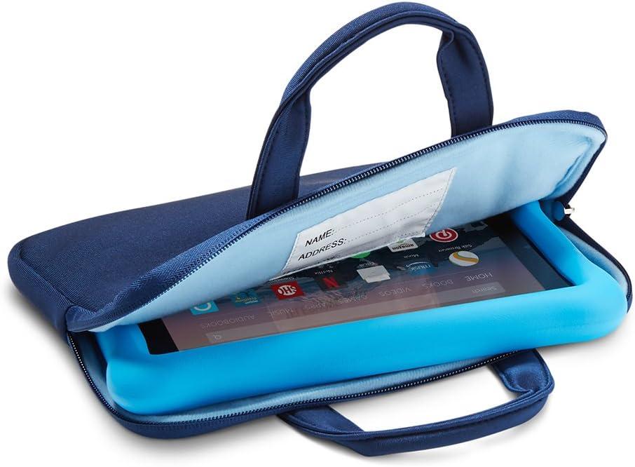 Nupro Hülle Mit Reißverschluss Für Fire 7 Kids Edition Tablet Marineblau Blau Kindle Shop
