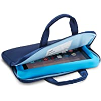 NuPro Zipper Sleeve for Fire 7 Kids Edition Tablet and Fire HD 8 Kids Edition Tablet, Navy/Blue