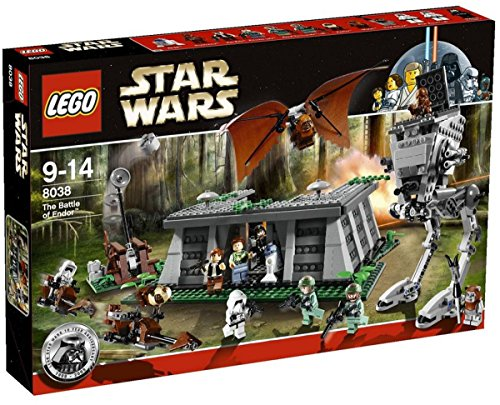 LEGO Star Wars The Battle of Endor (8038) (Discontinued by manufacturer) (Lego Star Wars Ewok Sets)