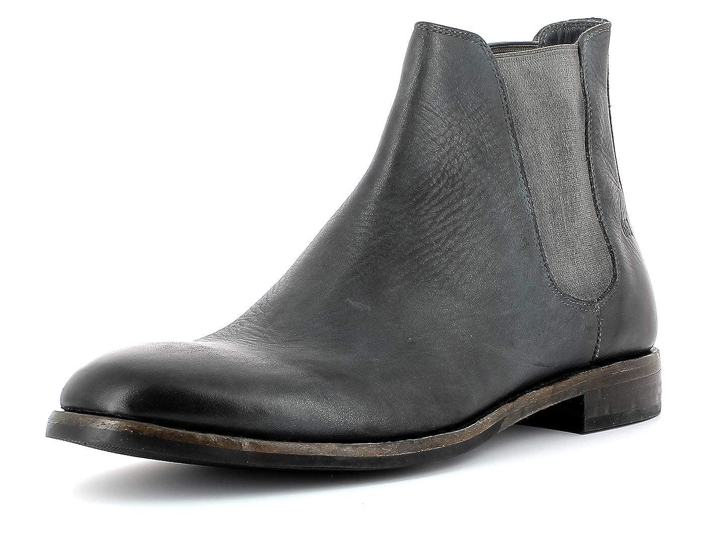 Gordon & Bros Herren Chelsea Boots Alessio S180785,Männer Stiefel,Halbstiefel,Stiefelette,Bootie,Schlupfstiefel Grey