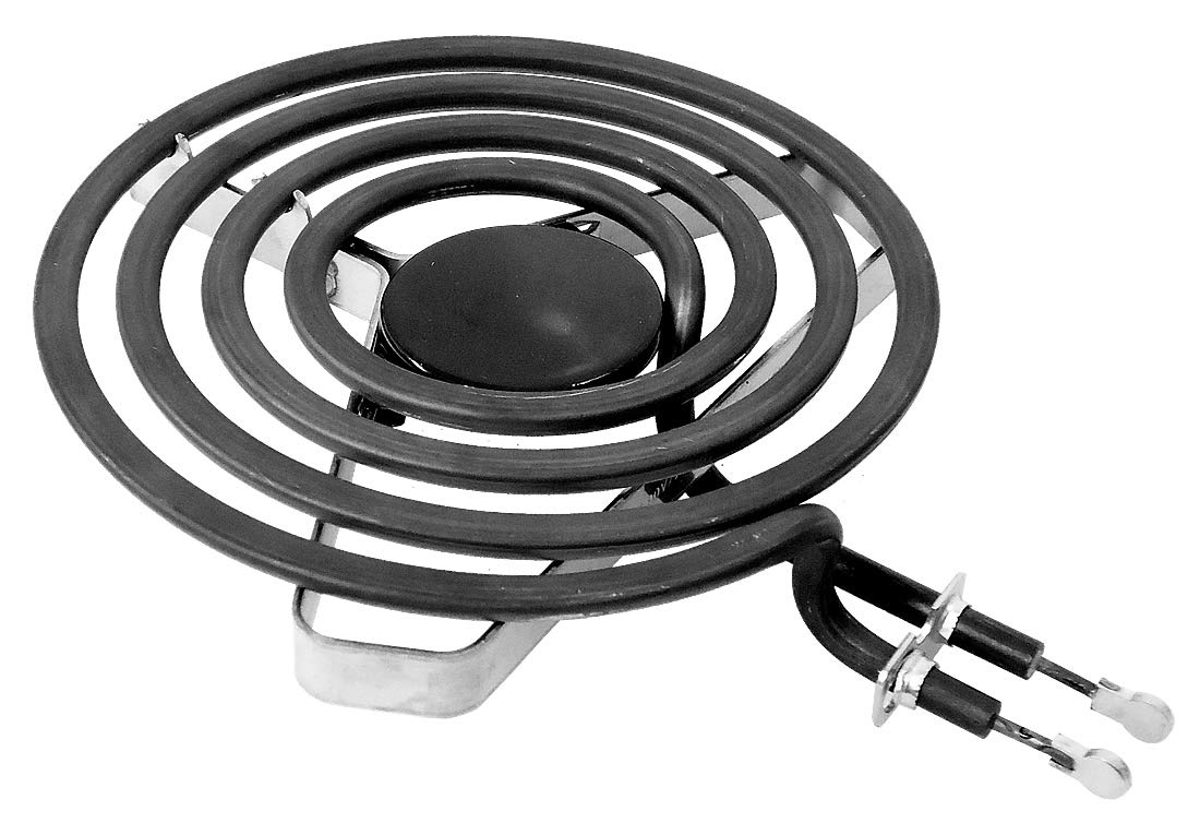 "ClimaTek Upgraded 6"" Range/Stove Heavy Duty Burner Element fits Crosley Maytag WPW10259868 AP6018066 12001231"