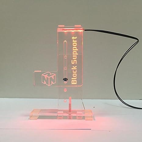 bykski transparente vertical tarjeta gráfica LED soporte ...