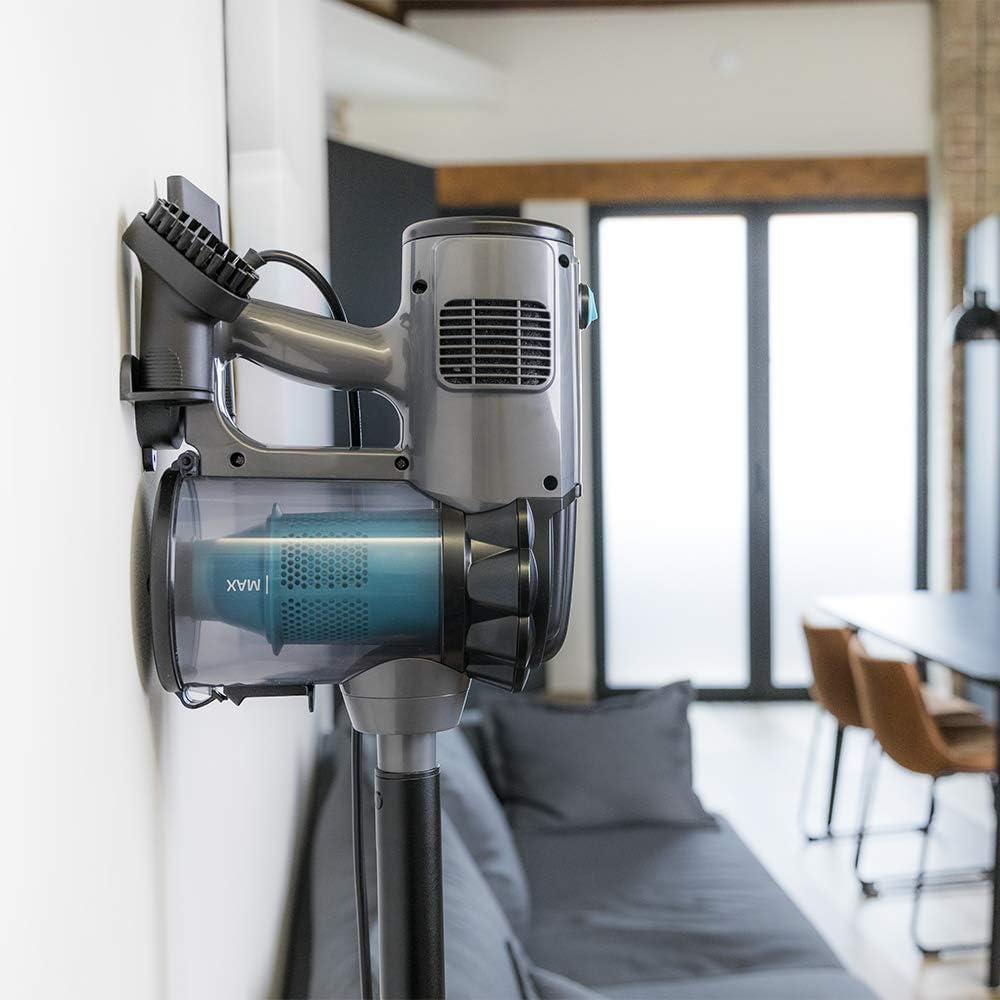 Aspirador Vertical 360/º 2 en 1 Cecotec Aspirador Vertical Conga ThunderBrush 550 Tecnolog/ía Cicl/ónica Aspirador Vertical y de Mano Bajo Consumo Eficiencia Energ/ética Clase A+