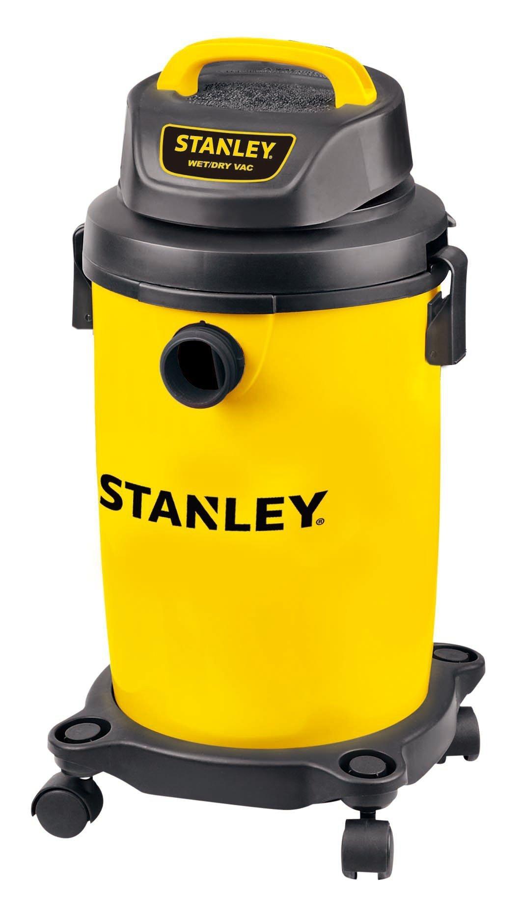 Stanley Wet/Dry Vacuum, 4.5 Gallon, 4 Horsepower (Renewed) by Stanley