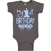 Reaxion Aiden's Corner Handmade Baby Clothes - Baby Boy My First Birthday Bodysuits & Shirts