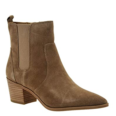 e086cf81600 Franco Sarto Sienne Women s Boot 8.5 B(M) US Birchwood-Suede