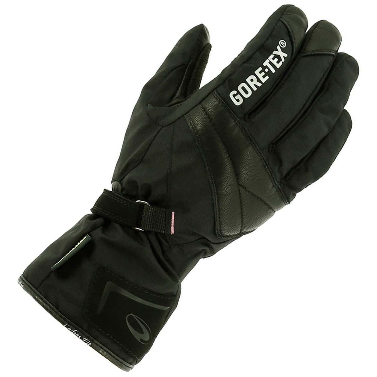 Richa Judy GTX Gore-Tex Waterproof Touring Motorbike Motorcycle Gloves - Black 15415033107629