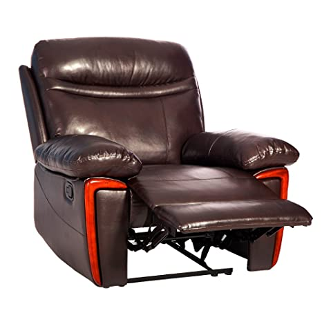 Amazon Com Merax Massage Recliner Pu Leather Lounge With Heat And