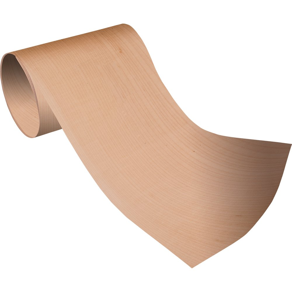 Maple Veneer Flat Cut 2' x 8' - 3M PSA Sauers & Company