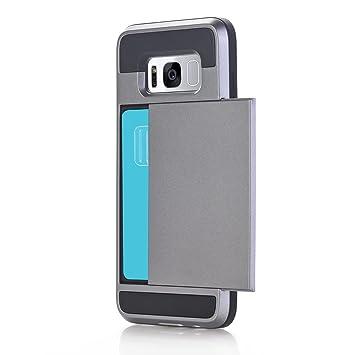 Amazon.com: Fangoog Funda para Galaxy S8 Cartera Soporte de ...