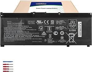INDMIRD SR04XL Laptop Battery for Hp Pavilion Power 15-CB000 Omen 15-CE000 15-DC0000 15-CE015DX SeriesNotebook Replacement 917678-1B1 HSTNN-IB7Z HSTNN-DB7W 917724-855 917678-2B1 15.4V 70.07Wh 4550mAh