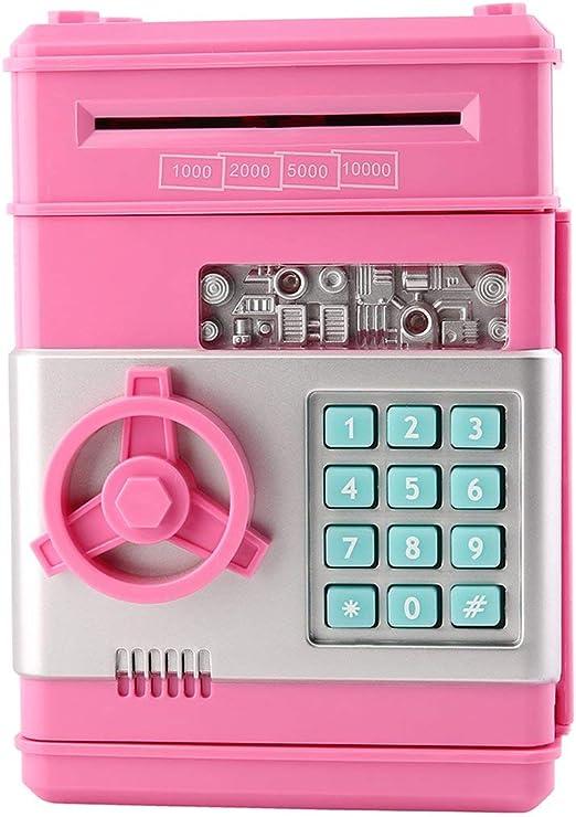 JohnJohnsen Caja Fuerte con el Dinero 7colors niños electrónico ...