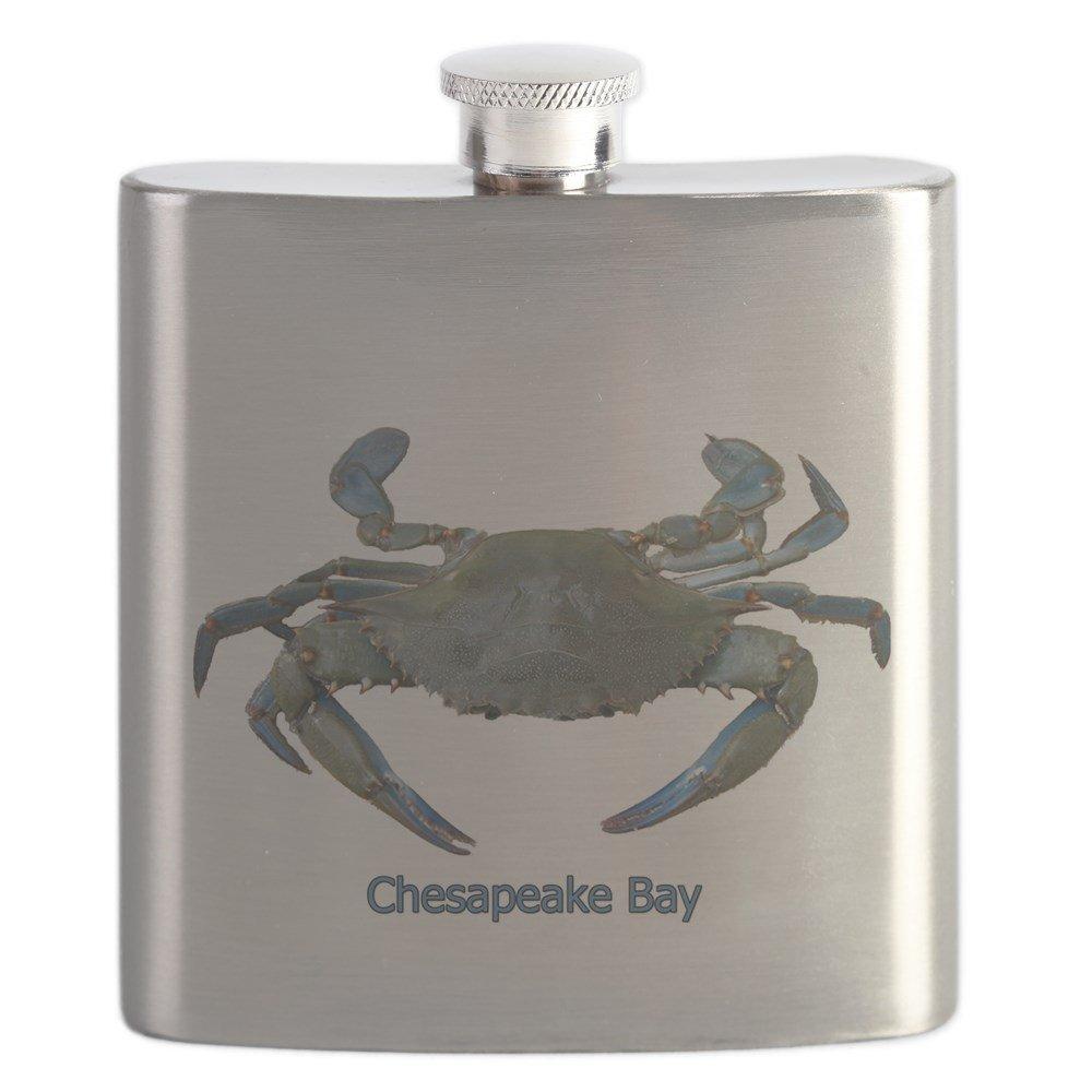 【新発売】 CafePress Bay – Chesapeake Bay Blue Crab – ステンレススチールフラスコ Crab、6オンスDrinkingフラスコ Blue B01IUEXLM6, fusion&SUN:30270a8f --- a0267596.xsph.ru