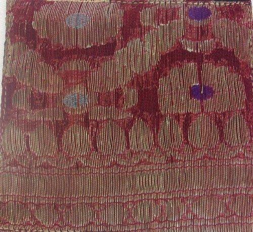 Traditional Indian Ethnic Sari Fabric Glass Coaster