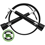 King Athletic Jump Rope Workout :: Skipping Rope Includes Video/eBook :: Speed Skip Training :: Because You Need The Best New Fitness/Exercise Jumping Ropes