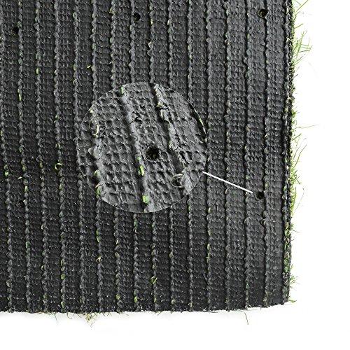 Green Rug Clean Dallas: ICustomRug Indoor / Outdoor Artificial Grass Shag, 8 Feet
