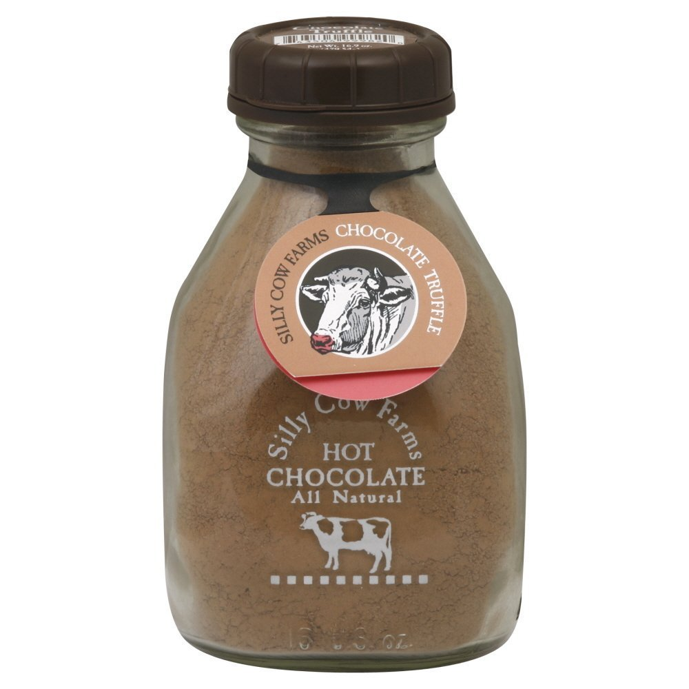 Silly Cow Farms Hot Chocolate, Chocolate Truffle, 16 Oz (Pack of 1)