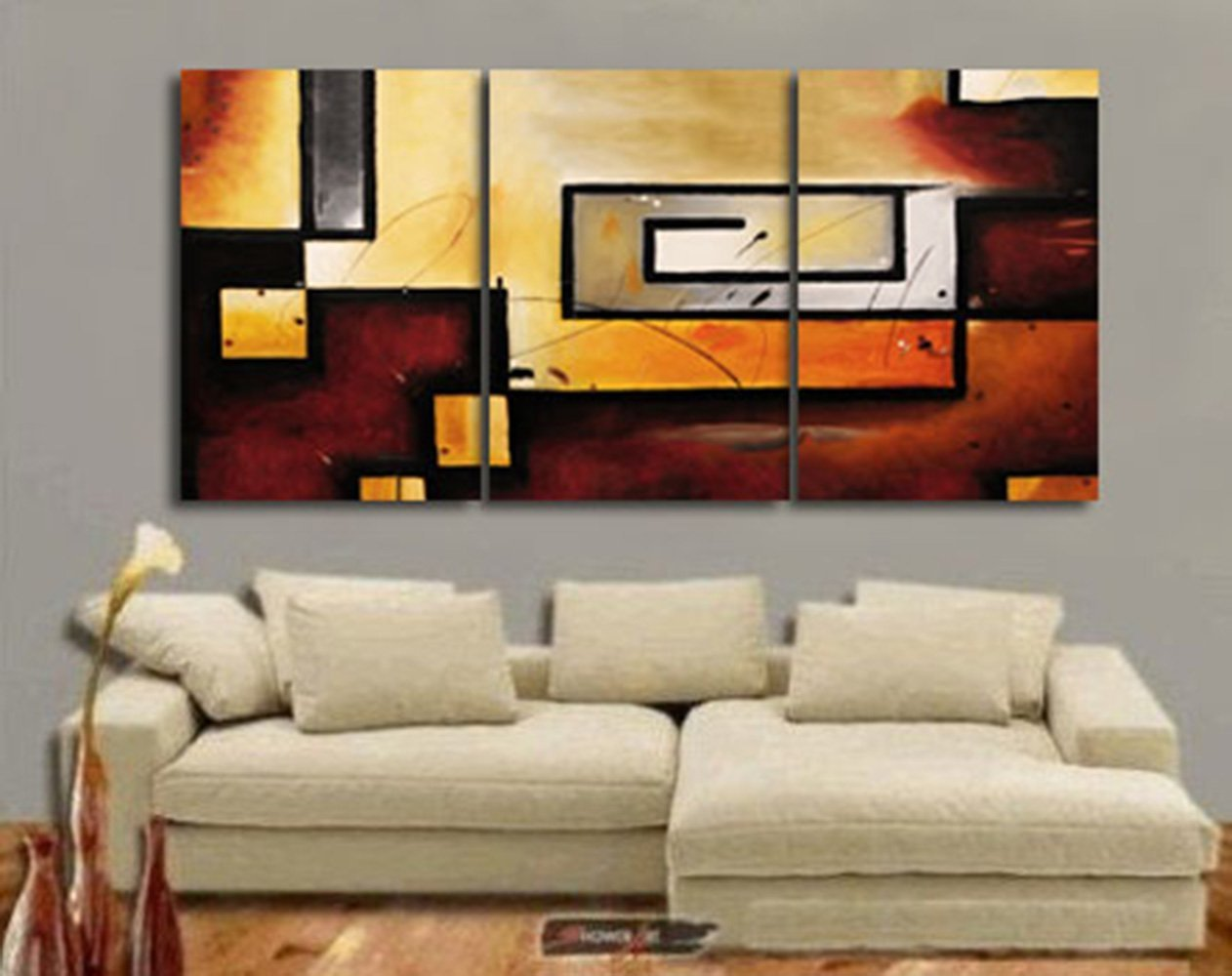 amazon com art wall abstract modern gallery wrapped canvas art by amazon com art wall abstract modern gallery wrapped canvas art by jim morana 36 by 54 inch oil paintings posters prints