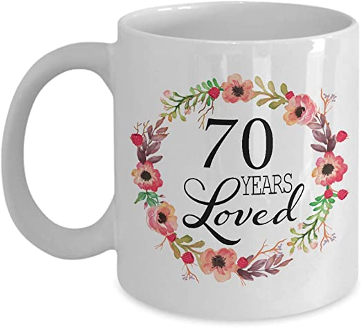 Amazon Com 70th Birthday Gifts For Women Gift For 70 Year Old